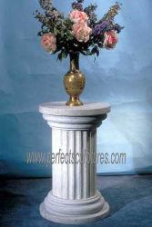Pilares de pedra de granito e mármore populares (QCM172)