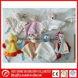 Angefüllte Plüsch-Baby-Tröster-Zudecke-Spielzeug-beruhigende Zudecke