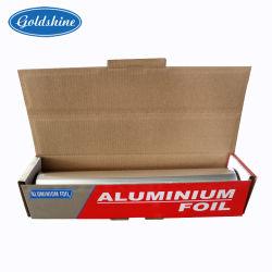 Estendido 9-30 Mícron 8011 Aparelhos electrodomésticos restos de folhas e tiras delgadas de alumínio para cozinhar o armazenamento de congelamento e de acondicionamento