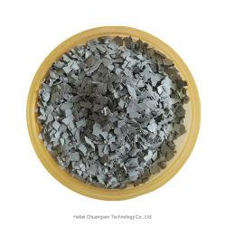 Des Ineinander greifen-100-200 für Baumaterialien angeben silbernes weißes Glimmerpulver
