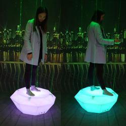 Venda quente LED brilhante fase de Dança Laser Oval