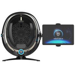 Perfecto USB Aceite de la pantalla táctil y seca la piel de análisis del sistema de ámbito de análisis de imágenes de rayos UV del analizador de piel facial para piel Mositure