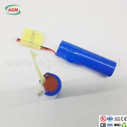 China-Exporteur Lir 18650 3.7V 2000mAh mit PCM-Lithium-Batterie
