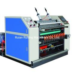 Fd-900 Coreless POS Rollo de papel térmico de cajeros automáticos de rebobinado de corte longitudinal la máquina