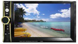 Doble DIN de 7 pulgadas Universal alquiler de video con espejo, FM, USB, Bluetooth