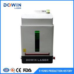prix d'usine 30W machine de marquage au laser à fibre ci-jointe pour l'étiquette métallique Prix marqueur laser