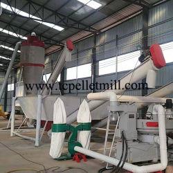Taichang 1-3.5t/h mejor calidad de la madera peletizadora/ Producción de pellets de madera