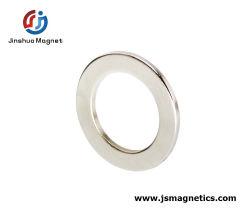 China Fornecedor Industrial Permanente NdFeB terra rara anel com magneto de neodímio grandes NdFeB anel do magneto
