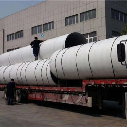 Grande tubo saldato dell'acciaio inossidabile dell'ANSI 316L di formato