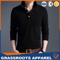 Gebildet Fabrik-Baumwolldrucken-Shirt-Polo-Hemden in den China-Guangzhou für Männer