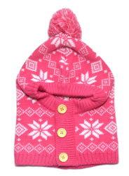 Hoeden & de Sjaal van de Kinderen van de winter de Manier Gebreide