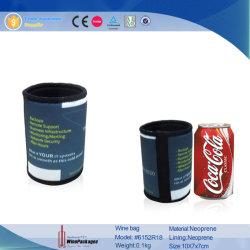 Amarillo de la moda Bolsa funda de neopreno para latas latas (6152R5).
