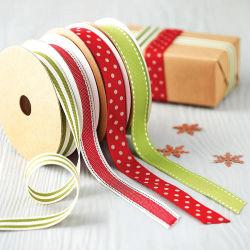 La banda de cinta de poliéster personalizadas de Navidad
