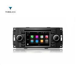 Timelesslong Android 7.1 GPS Vidéo de l'autoradio lecteur de DVD pour Chrysler PT Cruiser de 300C, Dodge Ram, Jeep Grand Cherokee avec /WiFi (TID-Q206)