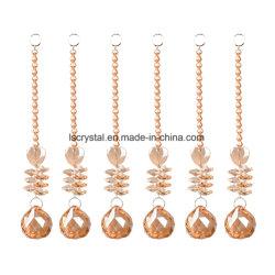 Lámpara de araña Suncatchers-Sparkly Chakra bolas de cristal para el hogar, oficina, el jardín de cristal Decoración Decoración Bodas Decoración de Navidad 6pzas