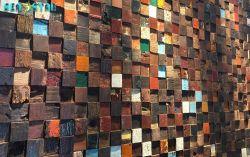최신 판매 새로운 디자인 목제 벽 종이 3D 벽돌 벽지