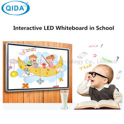 82'' E-Learning Class inteligente IR Multi Media pantalla LED LCD interactiva publicidad quiosco Player pizarra con el OPS PC
