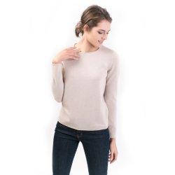 Maglioni classici del pullover del Squadra-Collo del cachemire delle lane delle donne
