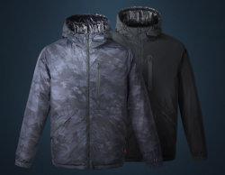 Design de moda masculina, Reversível, Seam jaqueta para Baixo da Luz, casaco de inverno, Casual jaquetas de Sportswear aquecida por carregador com mantendo a tecnologia quente
