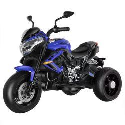 Räder 6V drei beleuchten Kind-batteriebetriebene elektrische Spielzeug-Motorrad-Fahrt auf Motorrad
