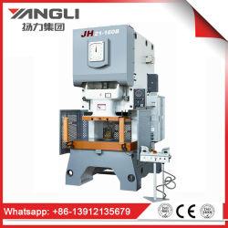 Punzone automatico aperto di serie Jh21 indietro/macchina pressa meccanica con la frizione a secco
