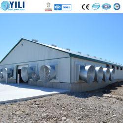 Azienda agricola personalizzata della griglia dell'allevamento della tettoia del pollame della Camera di pollo di disegno