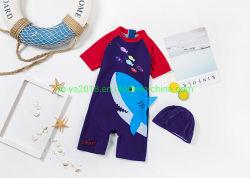 Nouveau boy Enfants maillots de bain 1PCS Shark Conception anti-UV haute Soft Kids Maillot de bain