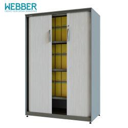 Новый дизайн с металлическими затвор двери шкаф с замком