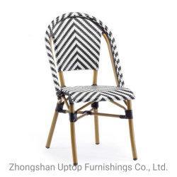 Sp-Oc359 de muebles de bambú aluminio silla de mimbre muebles de estilo retro de sillas de Bistro Francés