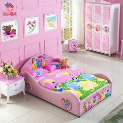 Het Meubilair van de Slaapkamer van de Jonge geitjes van het Bed van de Kinderen van de prinses