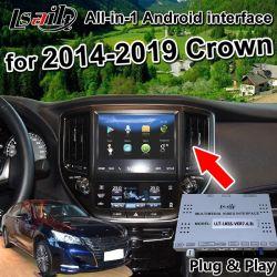 Tout-en-1 Android GPS Navigator pour le soutien de la Couronne Android 2014-2019 Toyota Auto, Auto Play, Mirrorlink Téléphone
