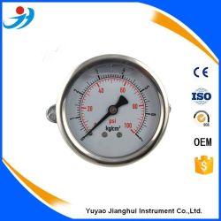 Certification CE de haute qualité bas 63mm Boîtier en acier de connexion commun pour l'échelle de la barre du manomètre