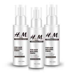 Heißes Menschenhaar-volles Spitze-Perücke-Haar, das Spray-Gebrauch mit Haar-Gebäude-Fasern sperrt