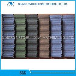 建築材料の金属の装飾の石によって塗られる電流を通された鋼鉄屋根瓦