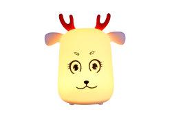 Lampada della Tabella di notte di figura LED dei cervi della scatola per i capretti