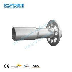 Échafaudage Ringlock Galavnaized rapide Collier de Base pour système d'Échafaudage Ringlock