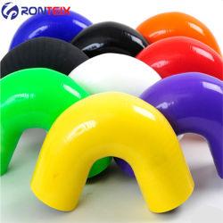 135 grado doble reductor manguera codo de 45 grados Turbo tubo flexible de silicona flexible de codo de 90 grados la joroba de un solo tubo flexible de silicona