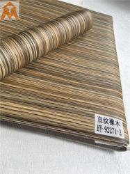 Du grain du bois Décoration gaufré Film PVC pour PS métal MDF