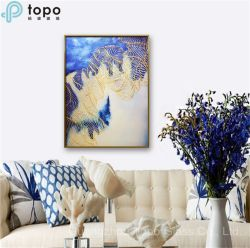 Dekorative Kunst-Glasfarbanstrich-Abbildungen für Wand-Hintergrund-Dekoration (MR-YB6-2025)