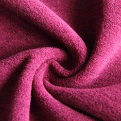 قماش قطبي ملمع من البوليستر مصنوع من قماش Fleece محبوك للسترة/الملابس الخارجية