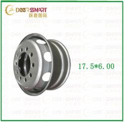 Usine acier TBR Chariot Tubeless Roue en acier pour jante aluminium 17,5*6.00