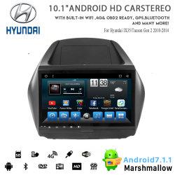 Android 8.1 voiture Vshauto huit coeurs DVD Audio pour Hyundai IX35/Tucson Gen 2 2010-2014