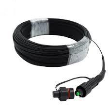 Ftta/Rru/Pdlc blindé Outdoor assemblage câble à fibre optique étanche/cordon de brassage optique