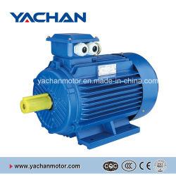 세륨 승인되는 0.12kw-315kw Y2 시리즈 수도 펌프, 공기 압축기, 기어 흡진기 팬 송풍기를 위한 삼상 비동시성 전동기 AC 모터 유동 전동기