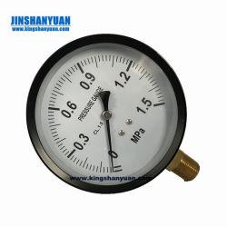 Manomètre de pression de l'Acétylène 63mm dans la fenêtre en plastique emboîtable