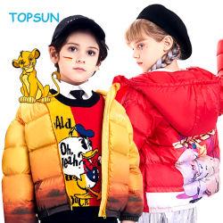 2021 Novo Design de Moda da Disney jaqueta para baixo Boy /Girl/ Crianças roupas com BSCI