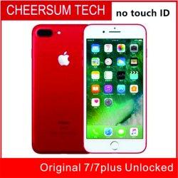 Refurished Cellphone7 100% Telefone Original 7/ 7 Plus Ios10 quad core 2 GB de RAM 32 GB, 128 GB, 256 GB ROM 12.0MP 4G Telemóvel sem ID de toque