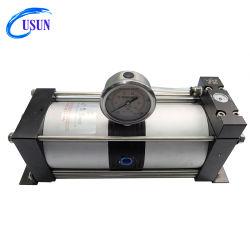 Tema caliente modelo: Ab02 Similar Haskel Amplificador de presión de aire comprimido para aumentar la presión de 8 bar a un máximo de 16 bar