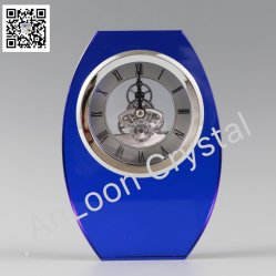 水晶時計、中国の水晶、K9水晶、ギフト、クラフト、装飾、クロック