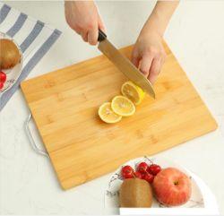 Venda por grosso de bambu de cozinha da placa de corte da placa de cortar vegetais
